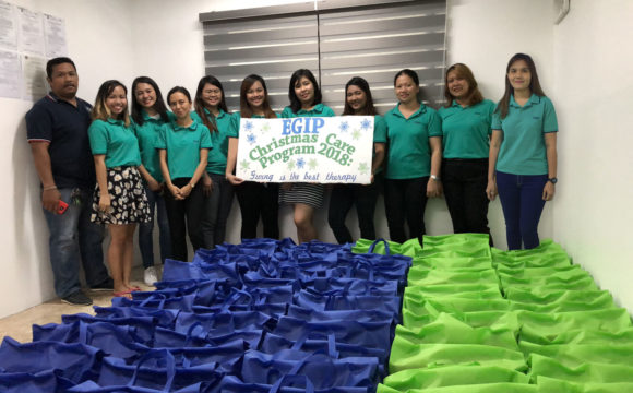 "EGIP Charity Care Program 2018 ""Giving is the best therapy"""